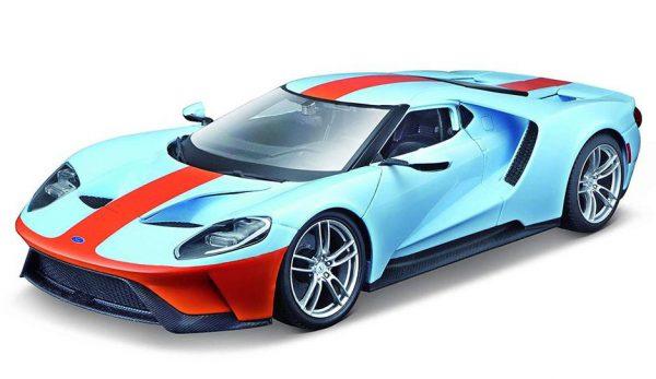 Ford GT 2017 Gulf - Maisto 1:18