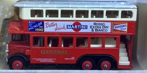 1931 AEC Renown Double Deck Bus Martini - LLedo 1:43