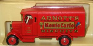 Days Gone 1931 Morris van Arnotts bisquits - Lledo 1:43