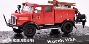 Horch H3A Brandweerauto met ladder - Atlas 1:72