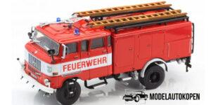 IFA W50 Brandweerwagen 1965 - Atlas 1:72