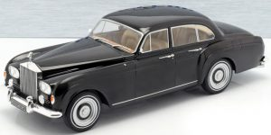 Rolls Royce Silver Cloud III Flying Spur Black by Mulliner 1965 - Model Car Group 1:18