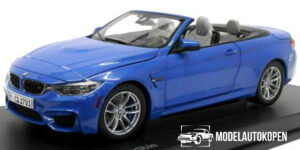 BMW M4 Convertible - BMW Collection 1:18