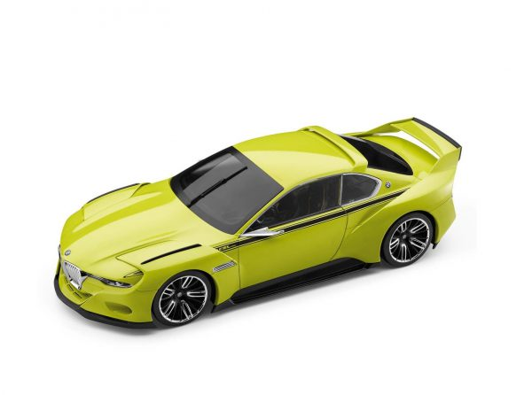 BMW Hommage 3.0 CSL Lime Green - BMW Collection 1:18