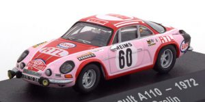 Alpine Renault A110 No.60 1972 - Atlas 1:43