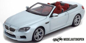 BMW M6 Convertible - BMW Collection 1:18