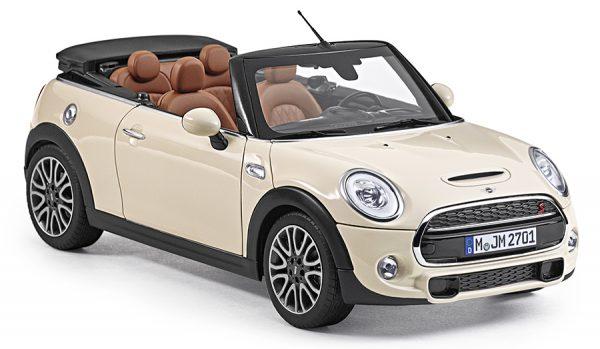 Mini Cooper S Cabrio - Mini Cooper Collection 1:18