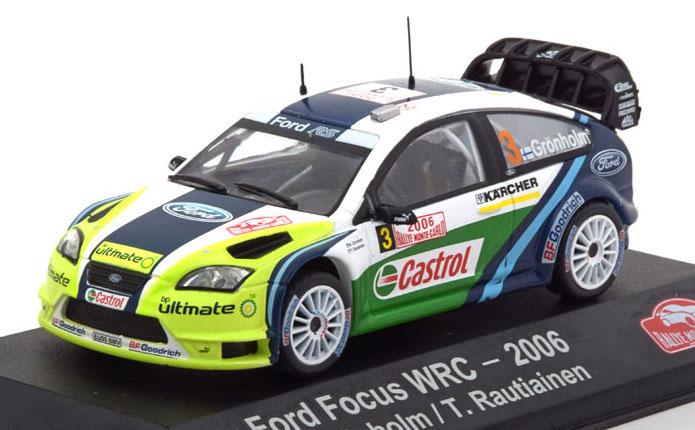 Ford Focus WRC No.3 2006 - Atlas 1:43