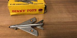 Dinky toys 737 P.1B Lightning