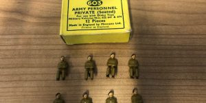 Dinky Toys 603 Army Personnel Private Seated