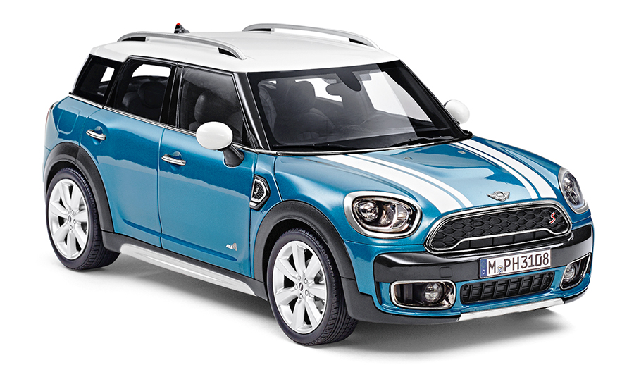 Mini Countryman Cooper S - Mini Cooper Collection 1:18