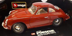 Porsche 356B Coupe 1961 - Bburago 1:18