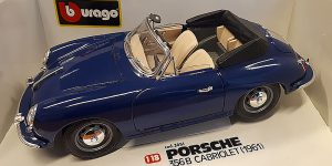 Porsche 356B Cabriolet (1961) - Bburago 1:18