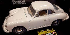 Porsche 356B Coupé (1962) - Bburago 1:18