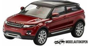 Land Rover Evoque 3 door (Rood) - IXO 1:43