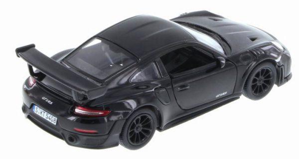 Porsche 911 GT2 RS Zwart - Kinsmart 1:36