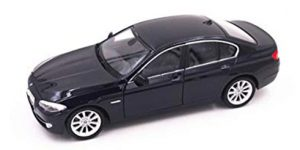 BMW 535i (donkerblauw)- Welly 1:24