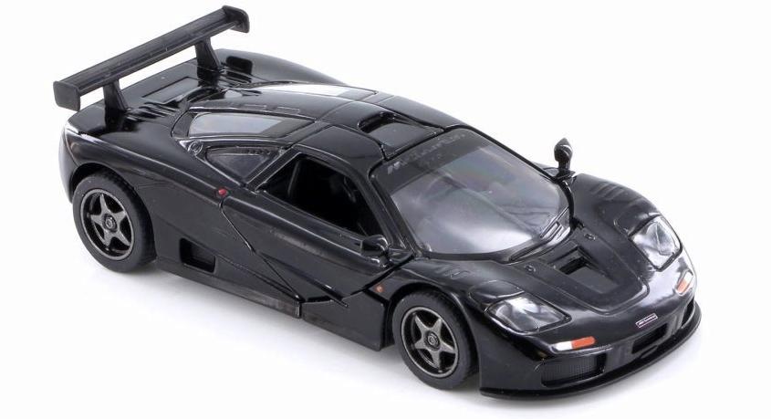 1995 McLaren F1 GTR Zwart - Kinsmart 1:36