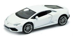 Lamborghini Huracan Coupé (Wit) - Welly 1:24