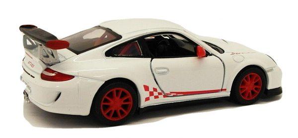 Porsche 911 GT3 RS Wit - Kinsmart 1:36