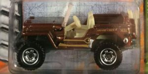 '43 Jeep Willys, MBX Jungle, Matchbox 1:64