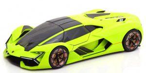 Lamborghini Terzo Millennio (Groen) - Bburago 1:24