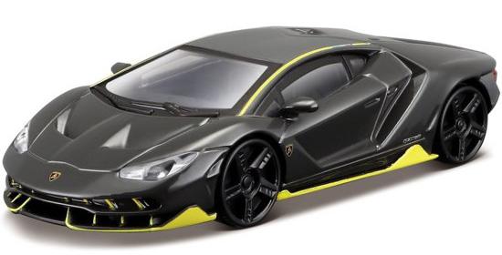Lamborghini Centenario LP 770-4 2016 (Zwart) - Bburago 1:43