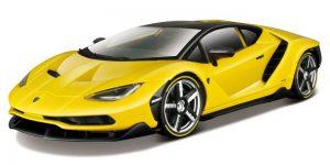 Lamborghini Centenario Geel (Exclusive Edition) - Maisto 1:18