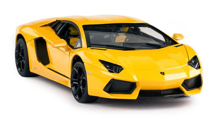 Lamborghini Aventador LP-4 Geel - Rastar 1:18
