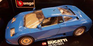 Bugatti EB 110 (1991) - Bburago 1:18