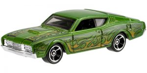 '69 Mercury Cyclone (Groen) - Hot Wheels 1:64