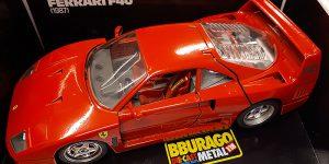 Ferrari F40 (1987) - Bburago 1:18
