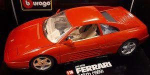 Ferrari 348tb (1989) - Bburago 1:18