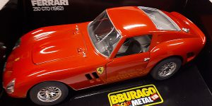 Ferrari 250 GTO (1962) - Bburago 1:18