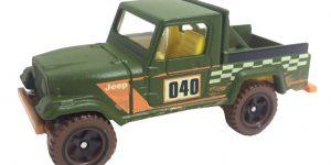Scrambler Jeep (Groen) - Hot Wheels 1:64