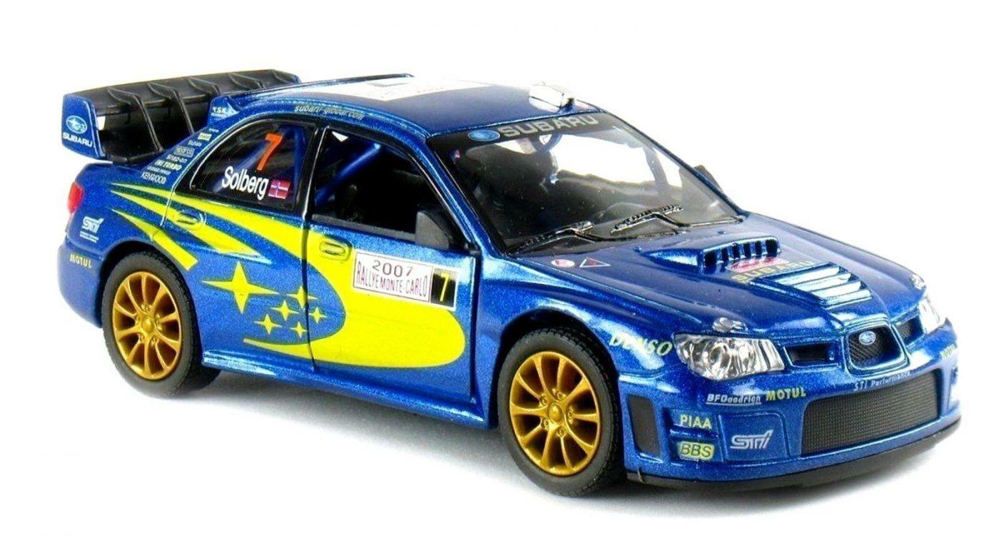 Subaru Impreza WRC 2007 - Kinsmart 1:36