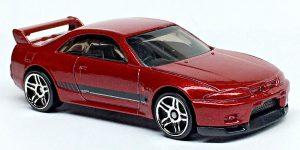 Nissan Skyline GT-R (BCNR33) - Hot Wheels 1:64