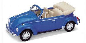 Volkswagen Beetle (Convertible) - Welly 1:24