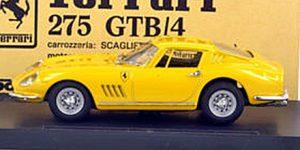 Ferrari 275 GTB/4 (Geel) - Modelbox 1:43