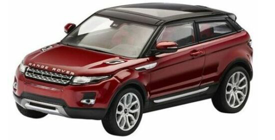 Land Rover Evoque 3 door (Rood) - IXO 1:43
