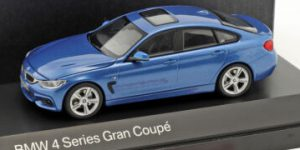 BMW 4 Series (F36) Gran Coupé (Blauw) - Kyosho 1:43