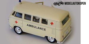 1963 Volkswagen T1 Bus (creme) - Welly 1:34