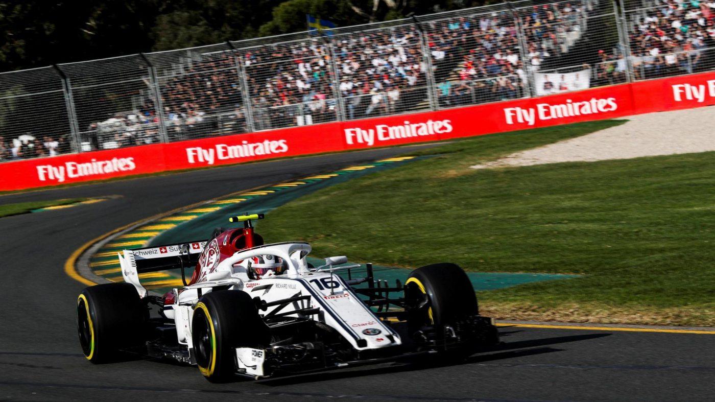 Charles Leclerc Formule1 racewagen