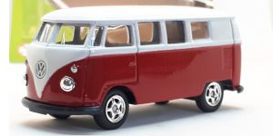 Volkswagen 1962 T1 wit - Welly 1:64