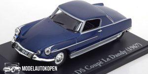 Citroen DS Coupe Le Dandy 1967 - Atlas 1:43