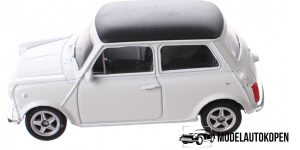 Mini Cooper wit - Welly 1:64