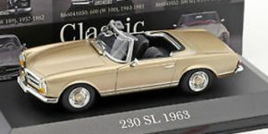 Mercedes-Benz 250 SL 1963 - Atlas 1:43