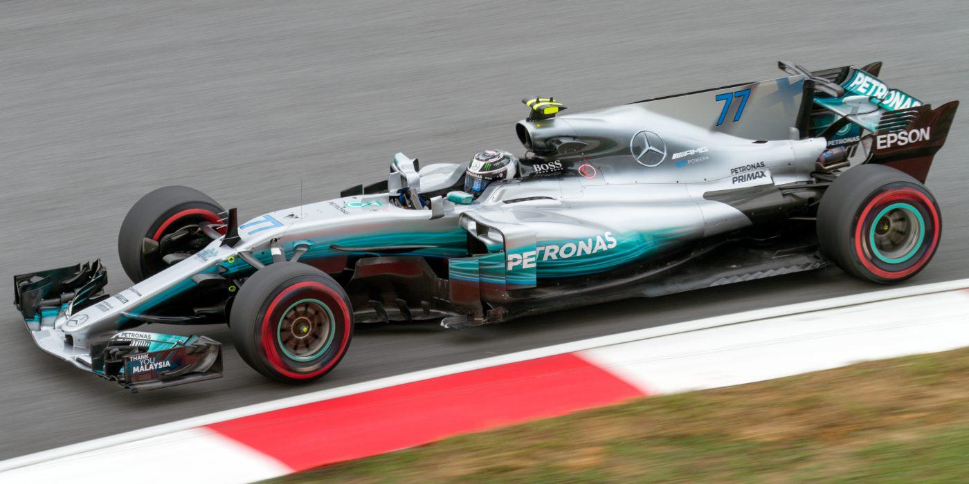 ValtteriBottas Formule1 racewagen