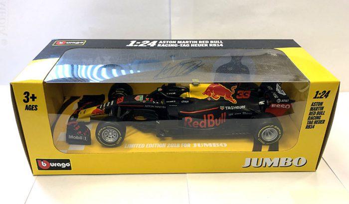 Max Verstappen Schaalmodel formule 1 racewagens