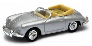 Porsche 356b zilver - Welly 1:64